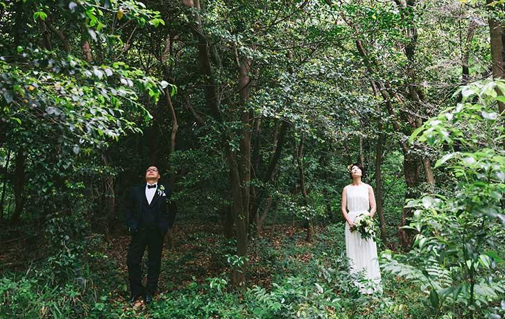 結婚式プロデュース会社の野外結婚式
